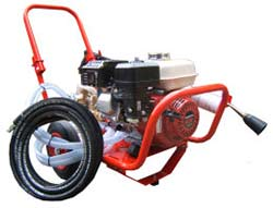 Honda GX200 power washer
