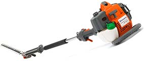 Husqvarna long reach hedge trimmers