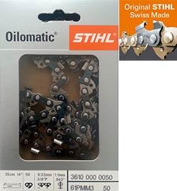 18 Inch Stihl Replacement Chain 3629 000 0068 Irish Mowers